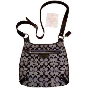 Coach Hobo Crossbody Shoulder Handbag Purse